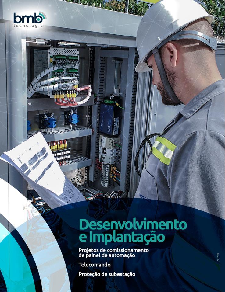 ABMB Tecnologiadesenvolve e implanta projetos de comissionamento de painel de automação, telecomando e proteção de subestação.