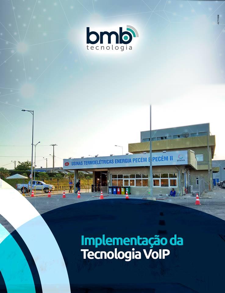 A BMB implementou novas tecnologias de comunicação em uma das maiores usinas termoelétrica do Brasil