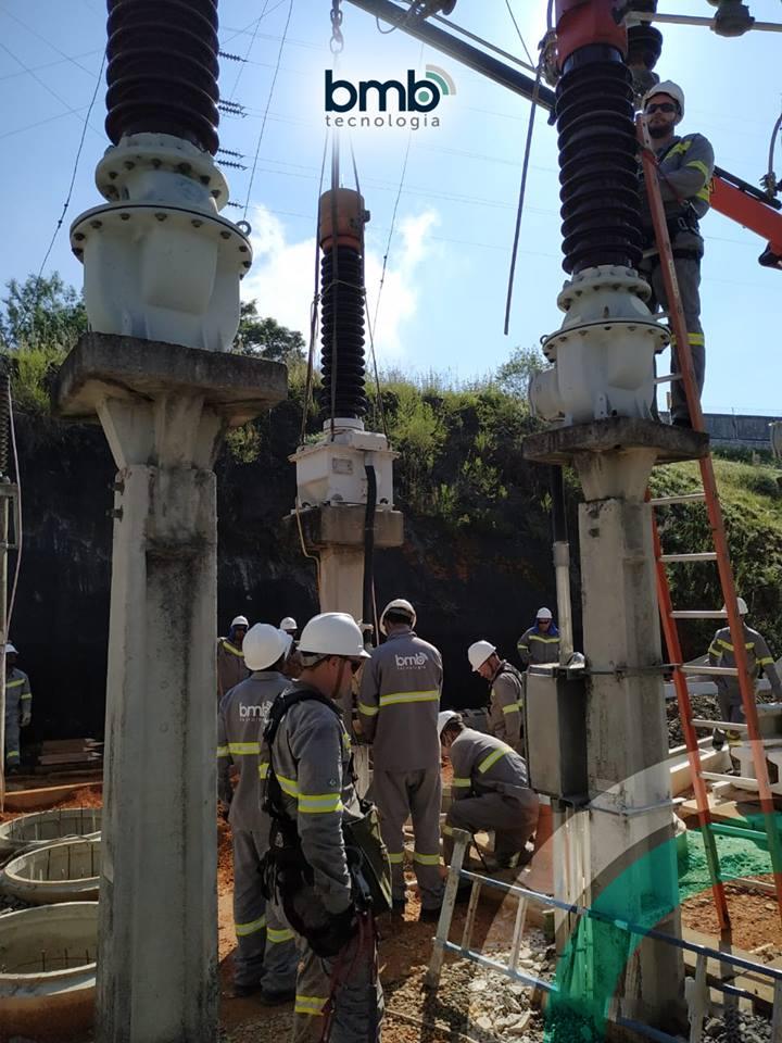A BMB Tecnologia atua em grandes projetos de subestação de energia.