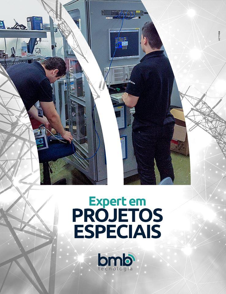 ABMB Tecnologiatambém é expert no desenvolvimento e implantação de projetos especiais.