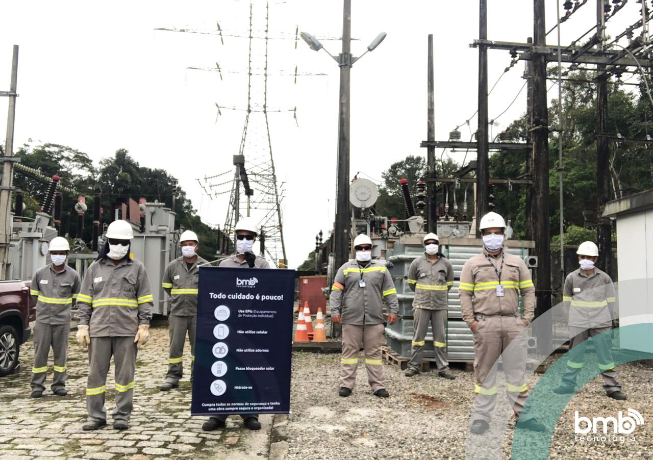 Iniciamos mais uma grande obra de ampliação e modernização de subestação de energia em Barra do Una