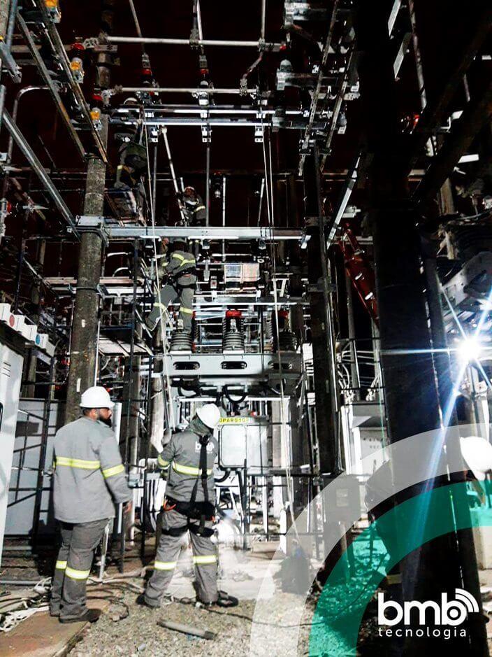 Modernização da ETD Bonsucesso da EDP São Paulo em Itaquaquecetuba